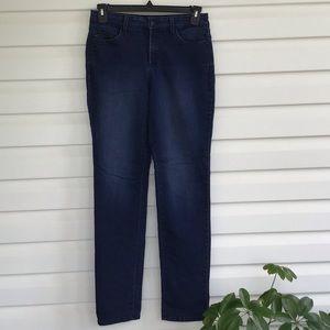 NYDJ straight 10 jeans